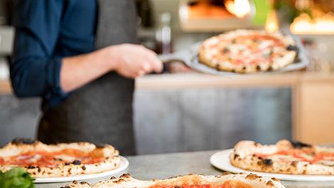 פיצה מרגריטה - נפוליטנית אמיתית