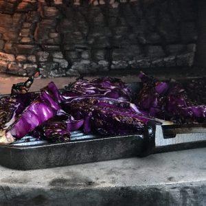 כרוב סגול בטאבון
